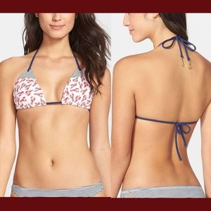 NWT Sperry Top-Sider 'Lobster Catch' Bikini top